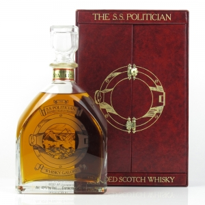 The S.S. Politician Blended Scotch 75cl / US Import