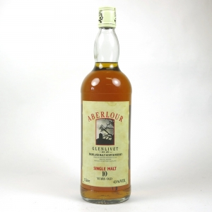 Aberlour 10 Year Old 1 Litre 1980s Front