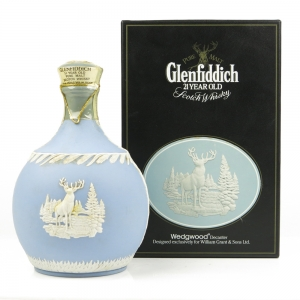 Glenfiddich 21 Year Old Wedgewood Decanter
