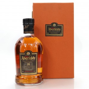 Aberfeldy 21 Year Old / with Booklet