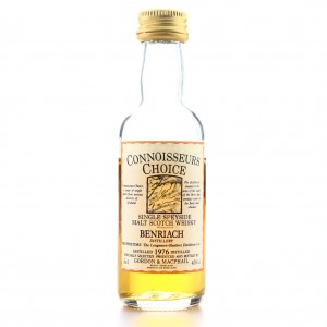 Benriach 1976 Gordon and MacPhail Miniature