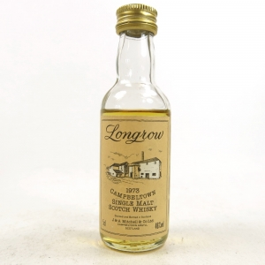 Longrow 1973 Miniature 5cl