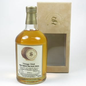 Macallan 1968 Signatory 26 Year Old
