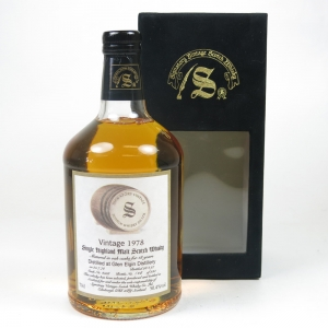Glen Elgin 1978 Signatory 18 Year Old
