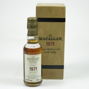 Macallan 1971 Fine and Rare 5cl