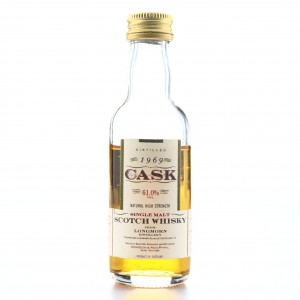 Longmorn 1969 Gordon and MacPhail Cask Strength Miniature