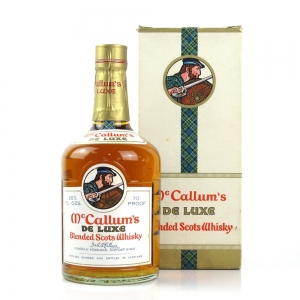 McCallum's De Luxe Blended Scots Whisky 1970s