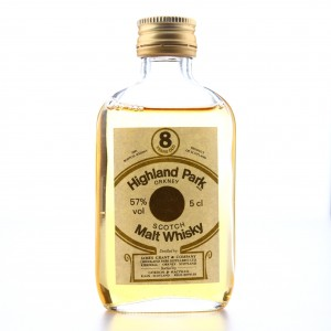 Highland Park 8 Year Old Gordon and MacPhail 57% Miniature