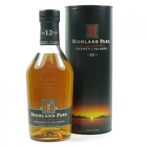 Highland Park 12 Year Old Red 'H' Over Black Label1990s Front