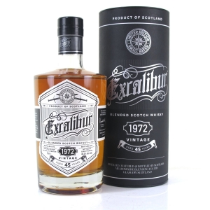 Excalibur 1972 45 Year Old Scotch Whisky