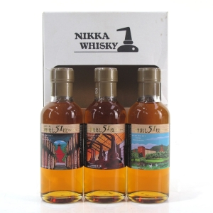 Nikka Whisky From The Barrel Distillery Edition Gift Pack 3x18cl