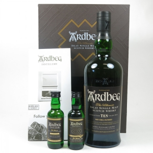 Ardbeg 10 Year Old Exploration Pack (Including Minitatures)