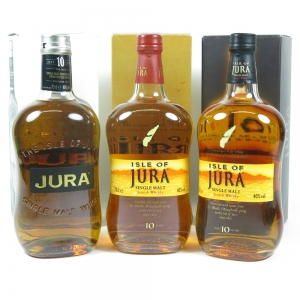 Collection of Jura 10 Year Old front