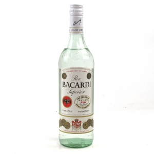 Bacardi Superior Commerative Label 100 Years Of Cuba Libre