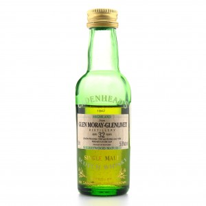 Glen Moray 1962 Cadenhead's 32 Year Old Sherry Wood Miniature