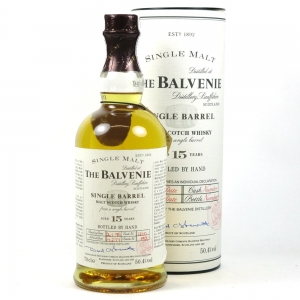 Balvenie 1977 15 Year Old Single Barrel front
