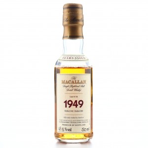 Macallan 1949 Fine and Rare 53 Year Old #136 Miniature