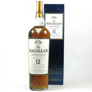 Macallan Elegancia 12 Year Old 1 Litre front