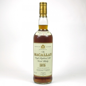Macallan 1975 18 Year Old