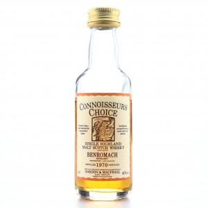 Benromach 1970 Gordon and MacPhail Miniature