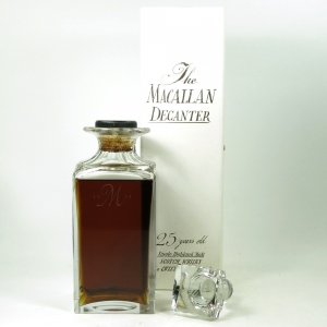 Macallan 1963 / The Macallan Decanter 25 Year Old / Missing Seal
