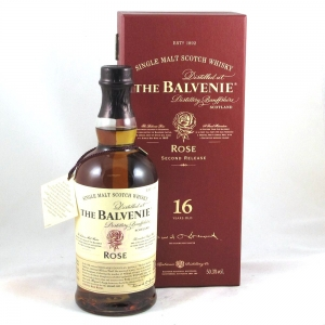 Balvenie Rose 16 Year Old Second Edition Front