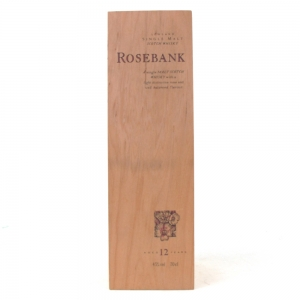 Rosebank 12 Year Old Flora and Fauna / Wooden Box NO BOTTLE