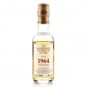 Macallan 1964 Fine and Rare 37 Year Old #3312 Miniature