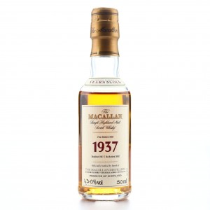 Macallan 1937 Fine and Rare 32 Year Old Miniature