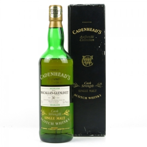 Macallan 1963 Cadenhead's 30 Year Old