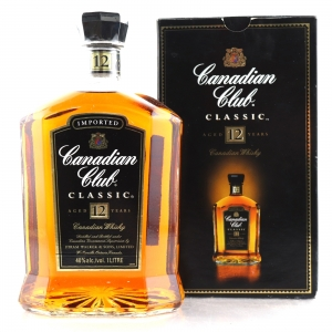 Canadian Club Classic 12 Year Old 1 Litre