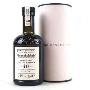 Bunnahabhain 40 Year Old Limited Edition 20cl