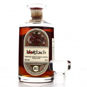 Mortlach 1939 Gordon and MacPhail 50 Year Old 'Book of Kells' Decanter