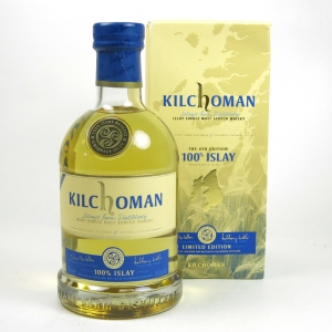 Kilchoman 100% Islay 4th Release
