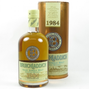 Bruichladdich 1984 Bottled 2002 front