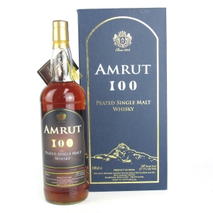 Amrut 100 Peated 1 Litre / Dutch Exclusive