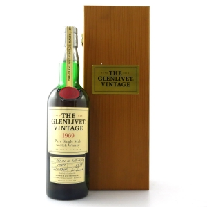 Glenlivet 1969 Vintage 75cl / US Import