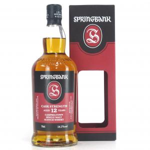 Springbank 12 Year Old Cask Strength / 54.2%