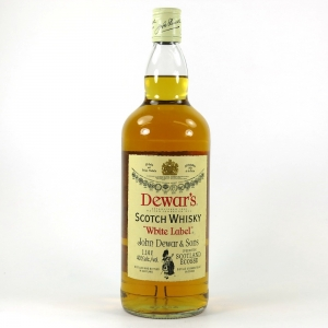 Dewar's White Label 1.14 Litre 1994 / Last Production at Inveralmond Front