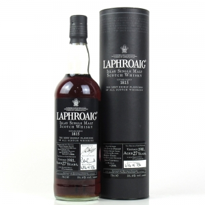 Laphroaig 1981 27 Year Old