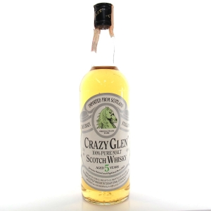 Crazy Glen 5 Year Old Pure Malt Scotch Whisky 1980s