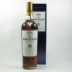 Macallan 1990 18 Year Old front