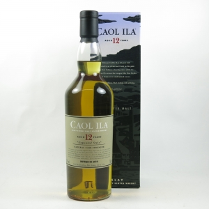 Caol Ila 12 Year Old 2010 Release front