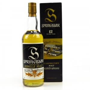 Springbank 12 Year Old 1980s 75cl