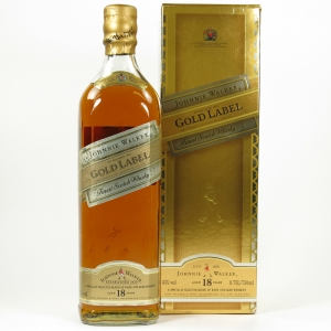 Johnnie Walker Gold label 18 Year Old 75cl front