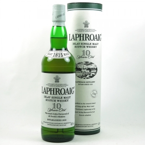 Laphroaig 10 Year Old front