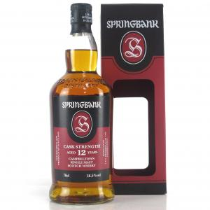 Springbank 12 Year Old Cask Strength / 56.5%