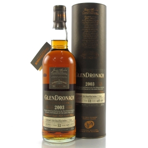 Glendronach 2003 Single Cask 12 Year Old #4102 / The Green Welly Stop 50th Anniversary