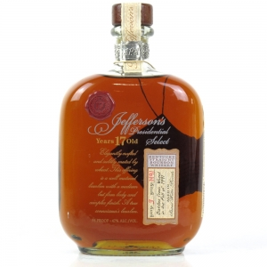 Jefferson's Presidential 17 Year Old Distilled 1991