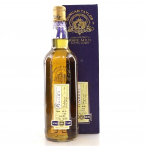 Brora 1981 Duncan Taylor 22 Year Old
